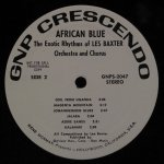 Exotic Rhythms Of Les Baxter Orchestra And Chorus - African Blue