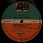 AC/DC - Who Made Who