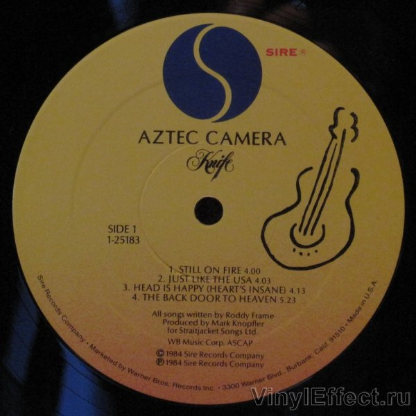 Aztec Camera Knife