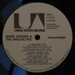 Monk Higgins & The Specialties - Heavyweight