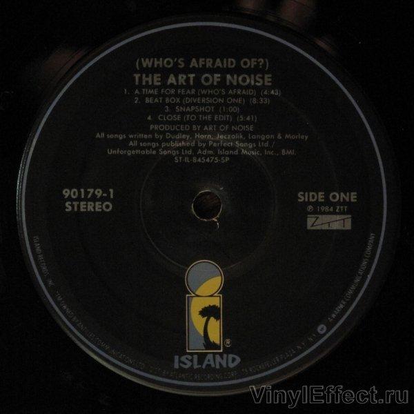 Art Of Noise Whos Afraid Of The Art Of Noise