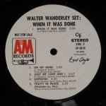 Walter Wanderley - ‎When It Was Done